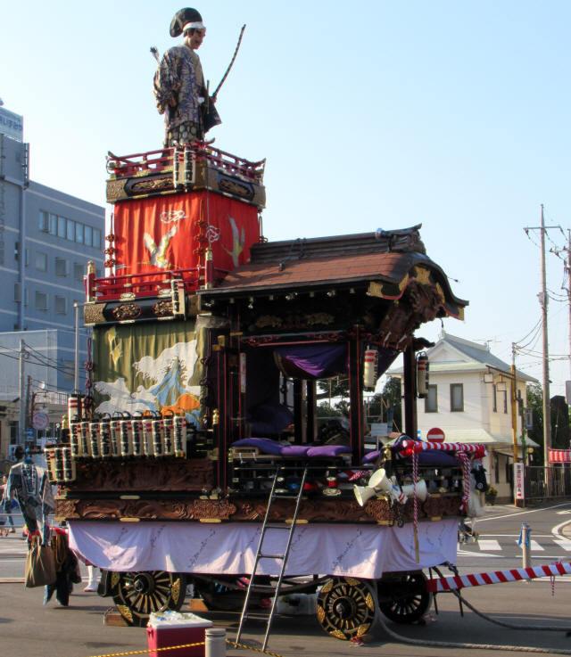 花崎町の山車0