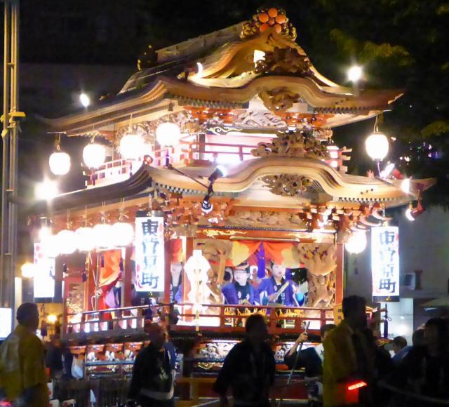 東菅原町の屋台2
