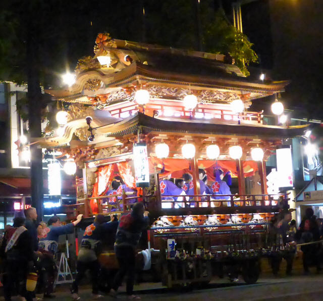 東菅原町の屋台6