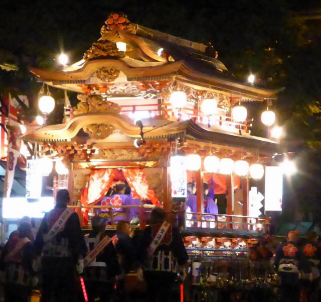 東菅原町の屋台1