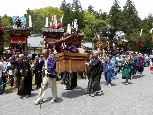 馬見岡綿向神社祭礼2
