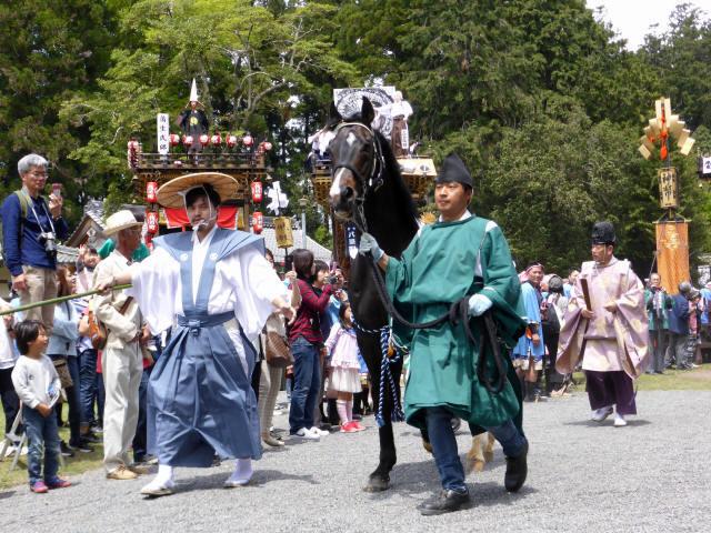 馬見岡綿向神社祭礼3