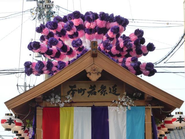 本町の花車1