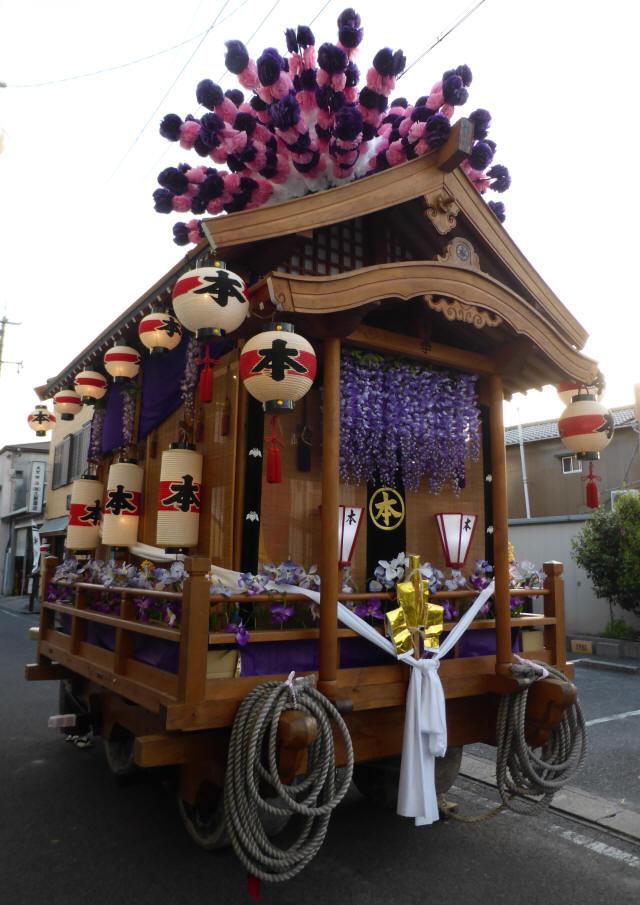 本町の花車4
