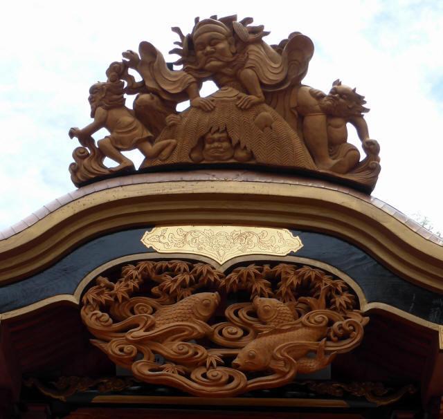 芳川町大橋の屋台1