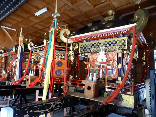 三輪神社例大祭と神輿8
