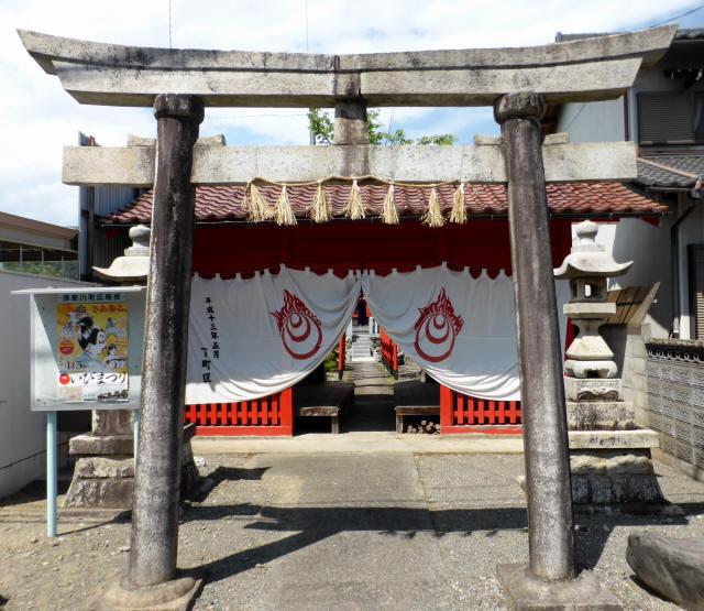 三輪神社例大祭と神輿5
