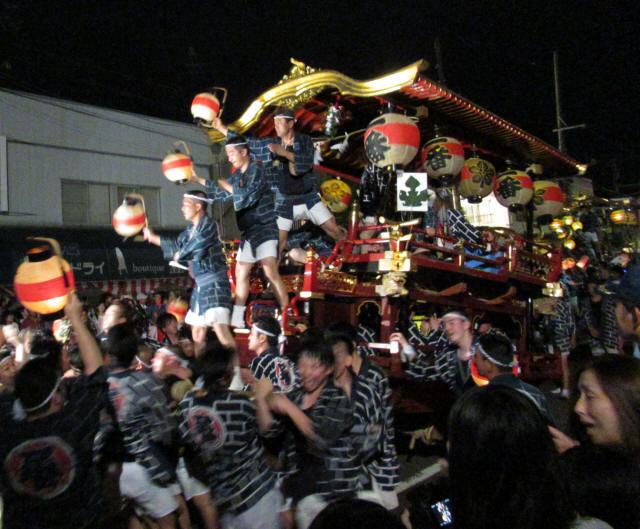 上町一番組の台輪5