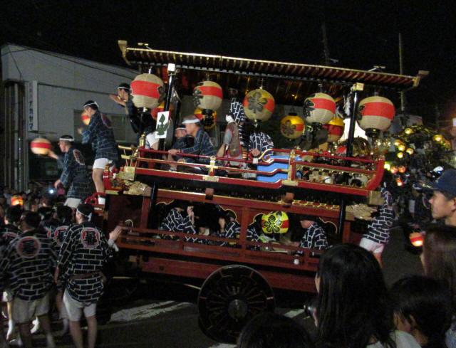 上町一番組の台輪9