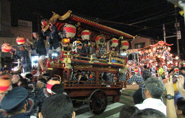 上町一番組の台輪8