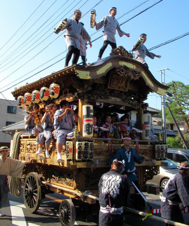 上町の山車8