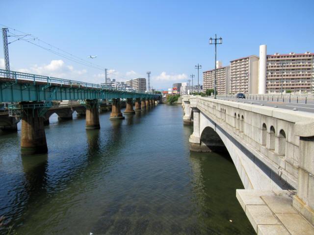 名島川橋梁4