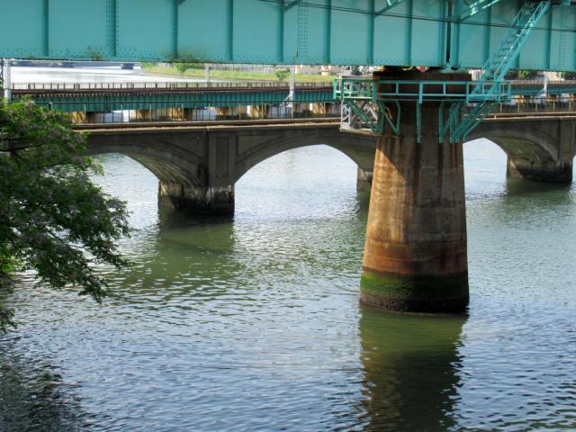 名島川橋梁5