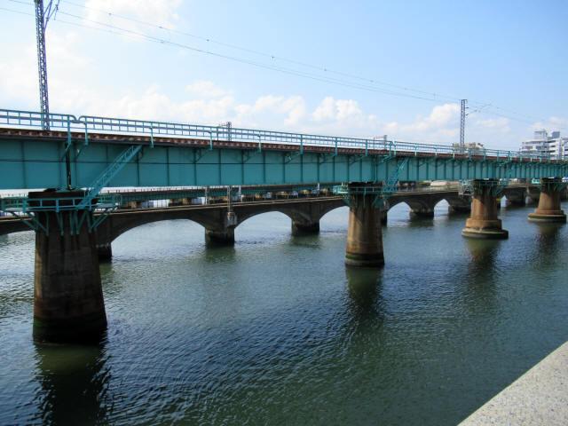 名島川橋梁6