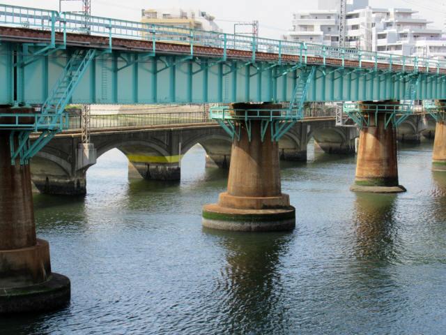 名島川橋梁7