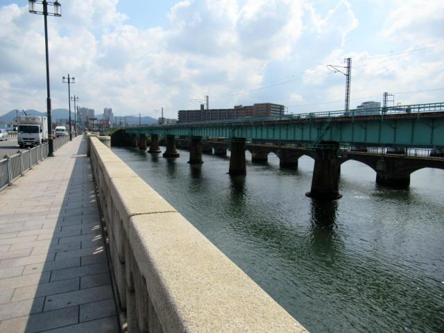 名島川橋梁1