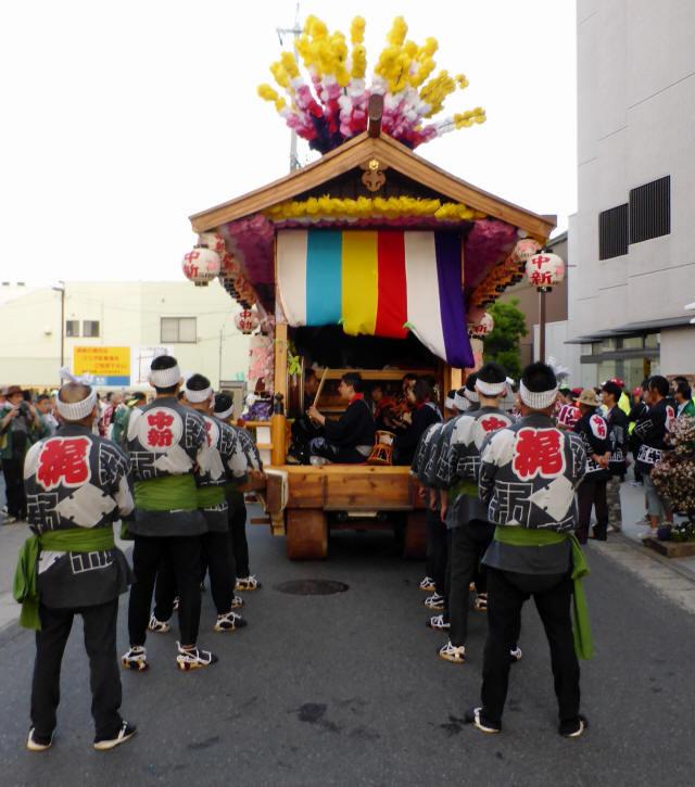 中新町の花車3