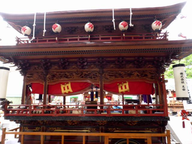 中沢町の屋台5
