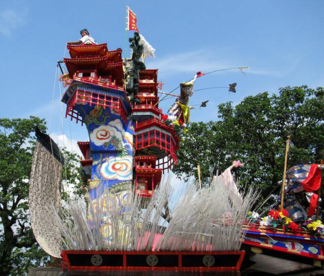中城町の山鉾4
