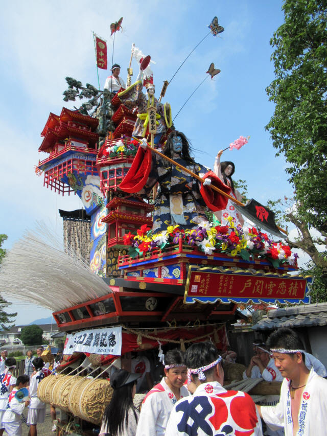 中城町の山鉾2