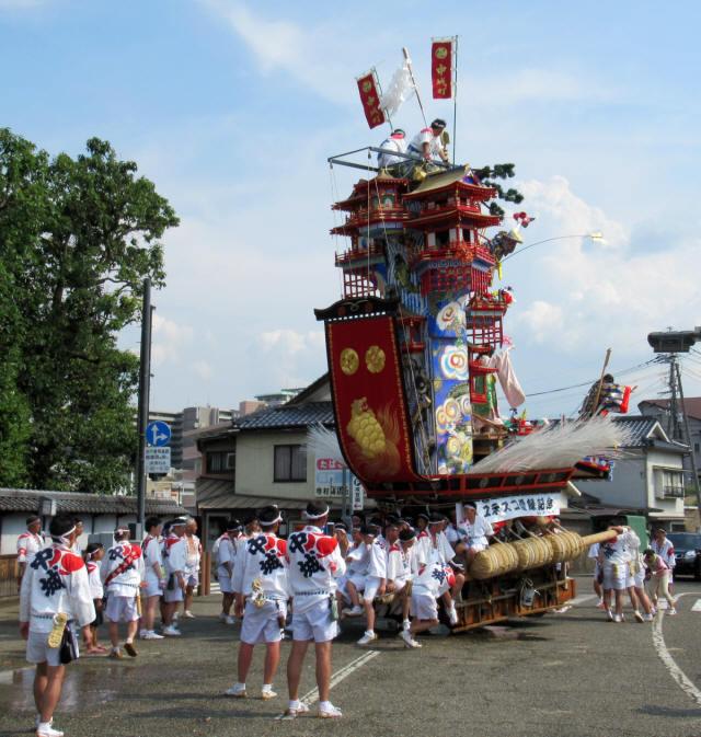 中城町の山鉾5