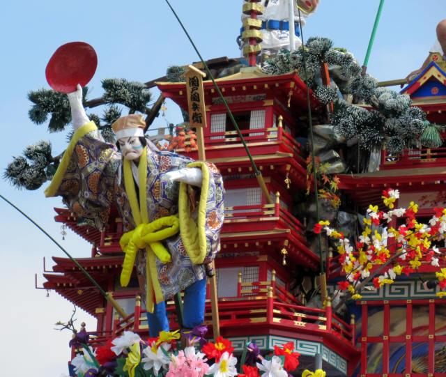 中城町の山鉾3