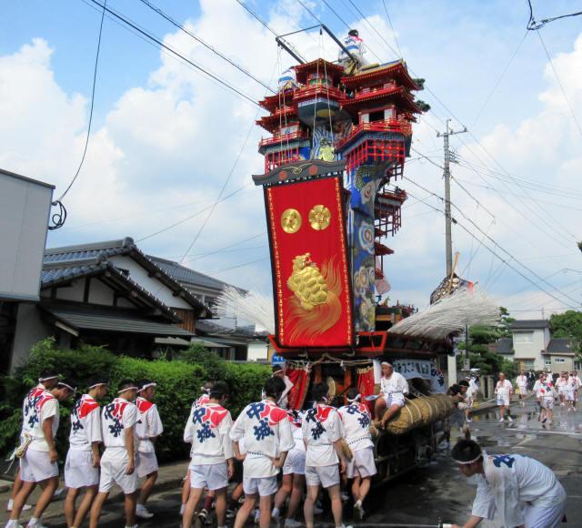 中城町の山鉾8