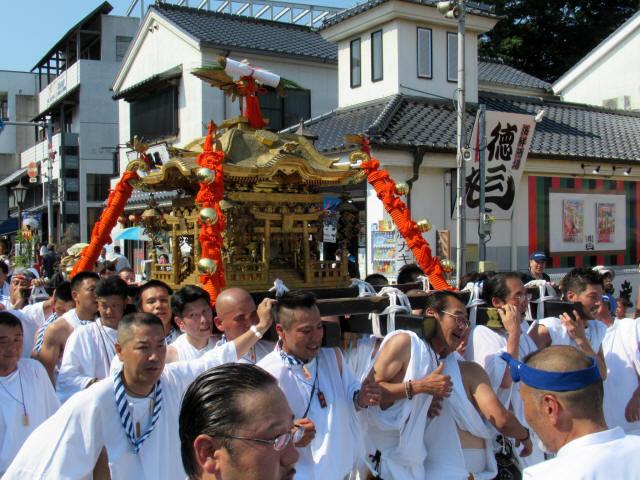 成田神輿巡幸4
