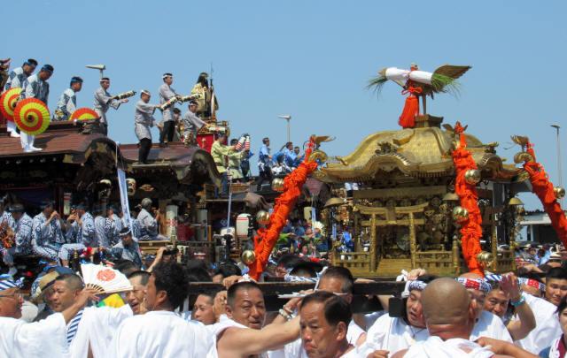 成田神輿巡幸1