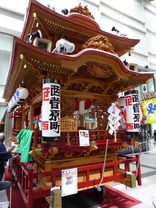 西菅原町の屋台6