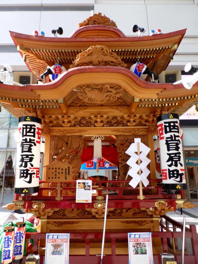 西菅原町の屋台1