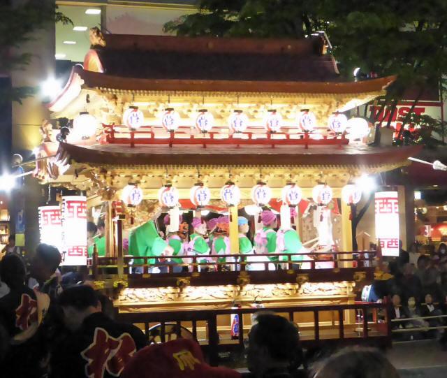 西菅原町の屋台5