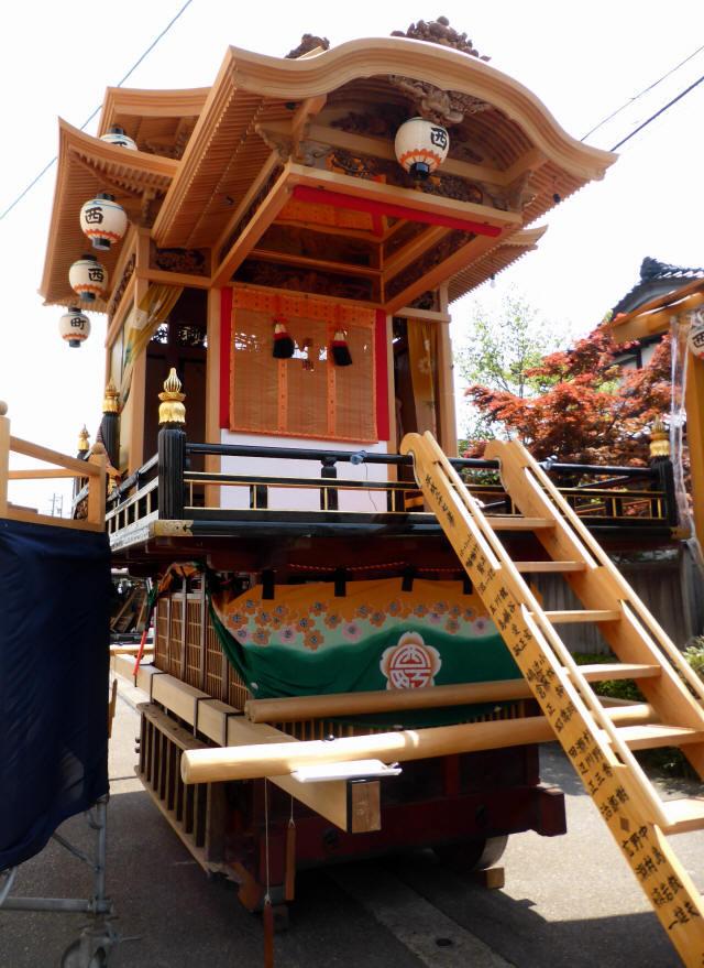 西町曳山と子供歌舞伎7