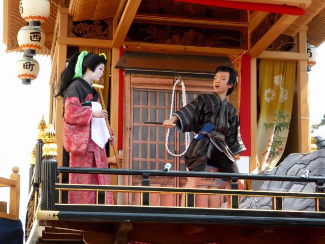 西町曳山と子供歌舞伎1