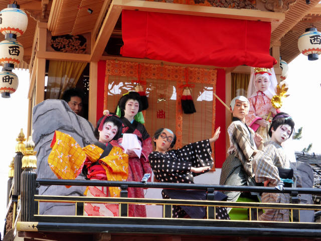 西町曳山と子供歌舞伎2