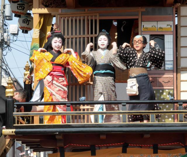 西町曳山と子供歌舞伎4