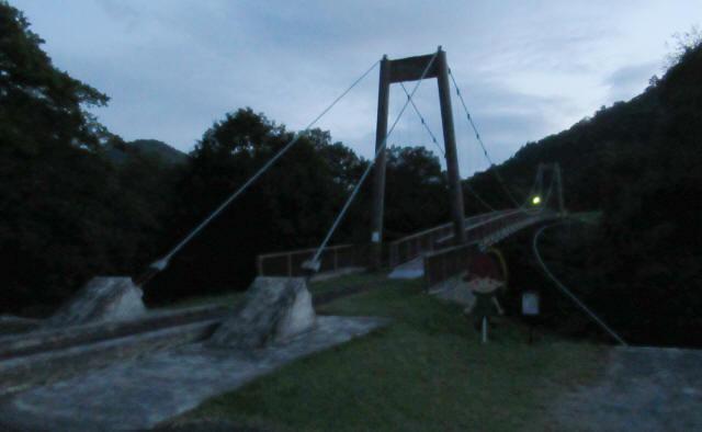 オロセの吊橋1