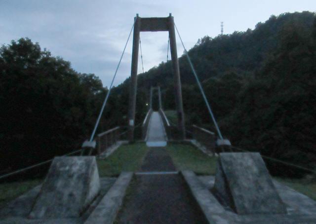 オロセの吊橋2