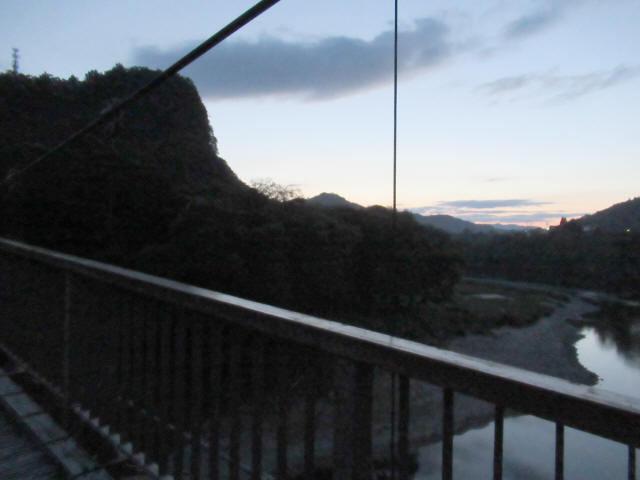 オロセの吊橋6