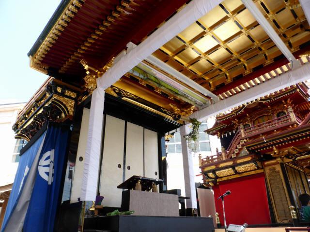 住吉山と子ども歌舞伎7