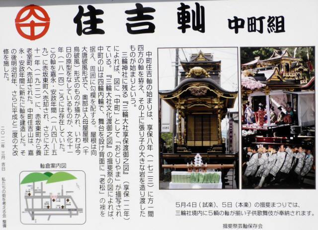 住吉山と子ども歌舞伎8