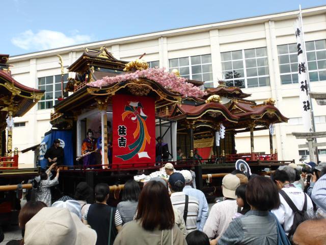 住吉山と子ども歌舞伎9