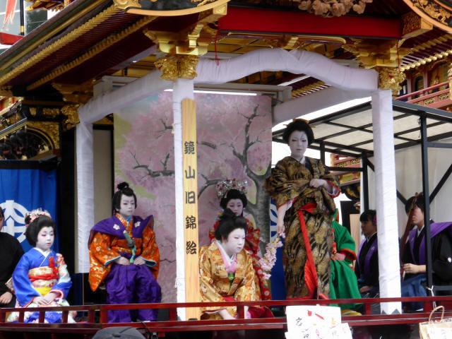 住吉山と子ども歌舞伎c