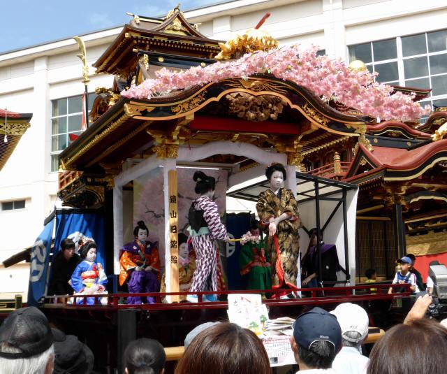 住吉山と子ども歌舞伎0