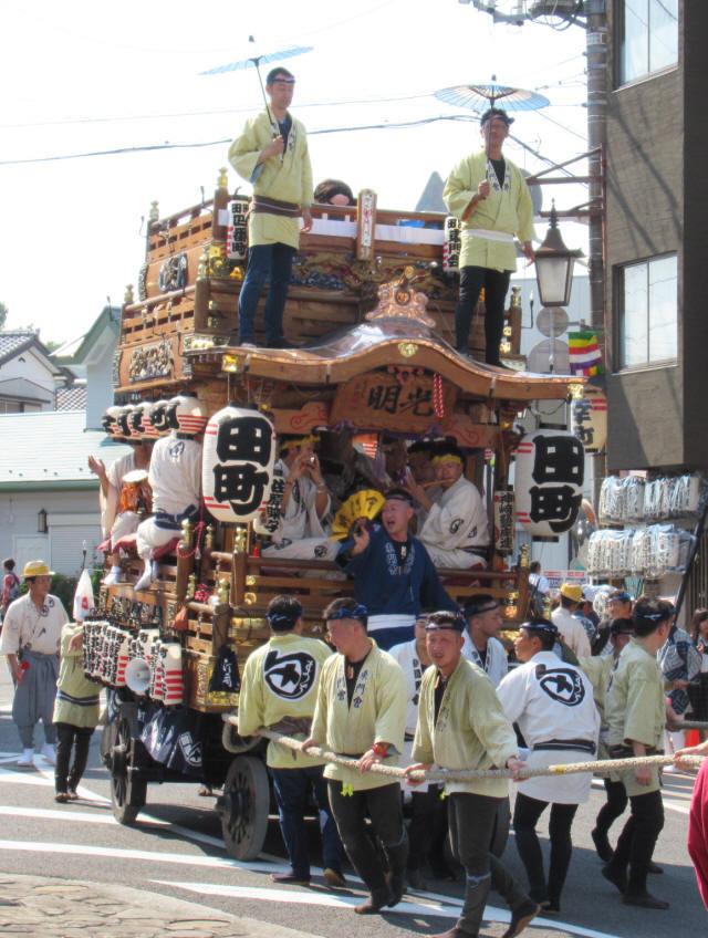 田町の山車3