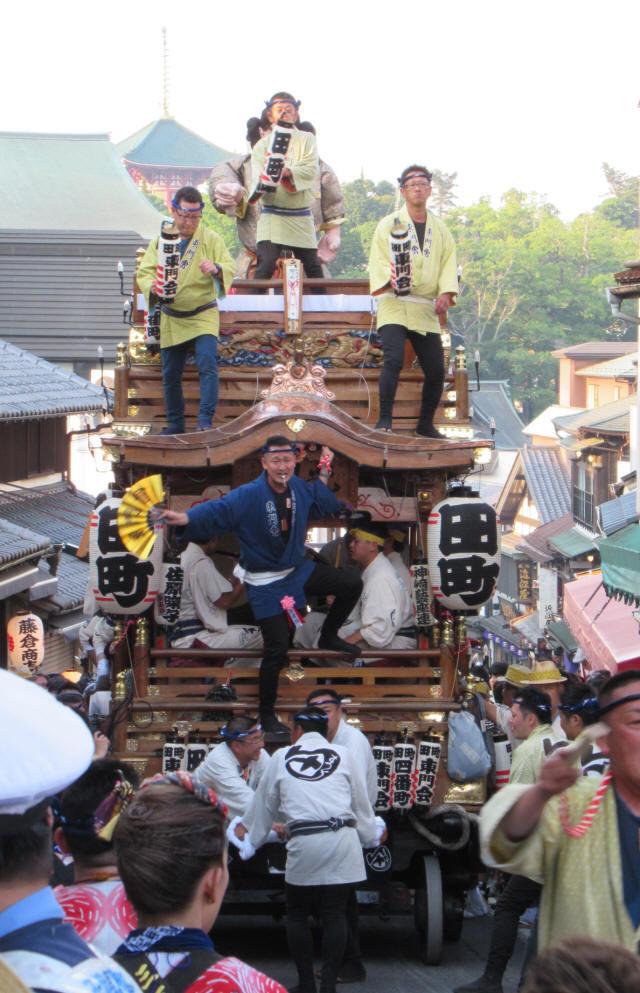 田町の山車5