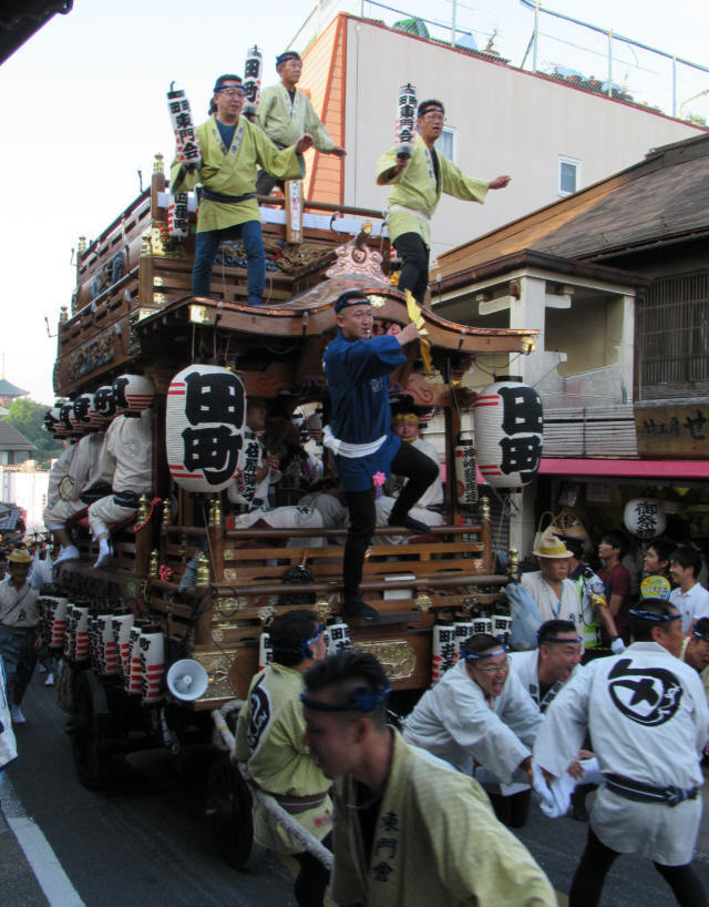 田町の山車7