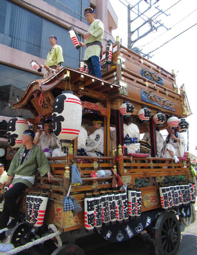 田町の山車8