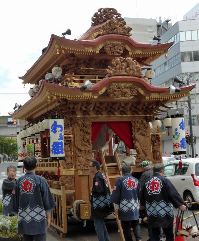 和田町の屋台1