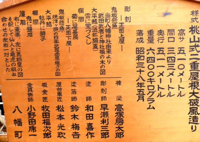 八幡町の屋台3